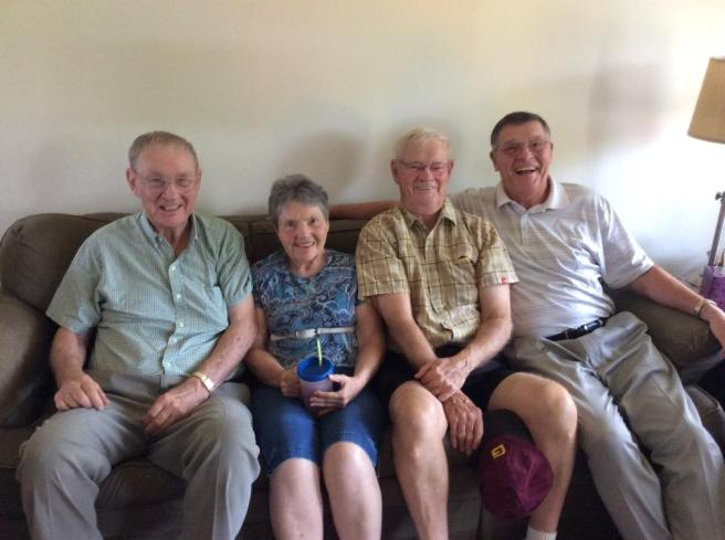 Grandpa, Great Aunt Eloise, Great Uncle Lowe, Great Uncle Steve