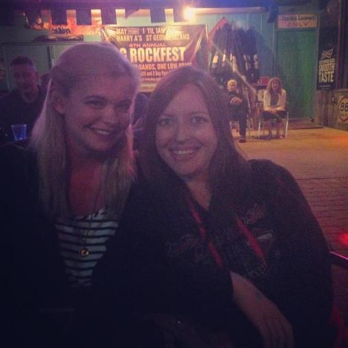Jen and Kristen